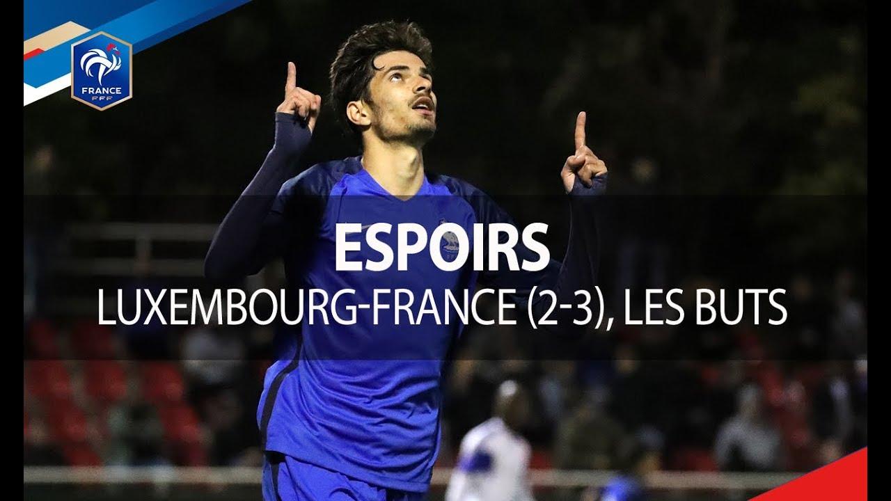 Люксембург U-21 - Франция U-21 2:3 видео