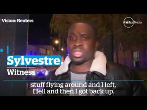 My phone saved my life Paris attack survivor Sylvestre was crossing the street talking on his phone