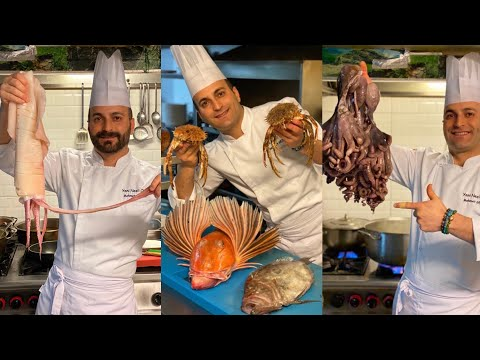 Calamari and shrimp recipes with you by CHEF MEHMET GEZEN