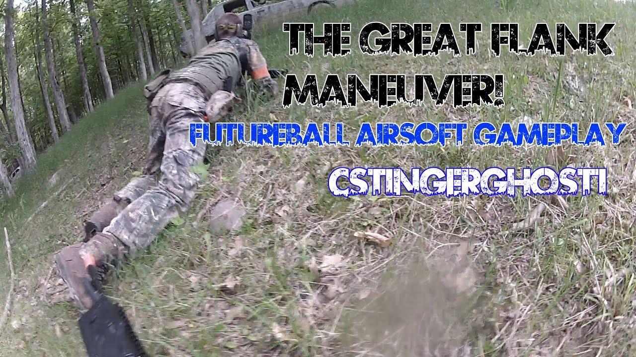 The Flank Maneuver Futureball Airsoft Gameplay Youtube