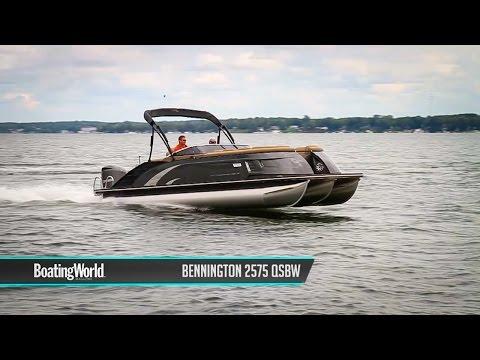 Bennington 2575 QSBW –Pontoon Boat Test