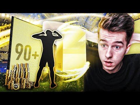 TRAFIŁEM 2x WALKOUT 90+ !!! PACZKI ZA 100K! | FIFA 18 PACK OPENING