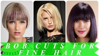 20 Hottest ideas for best bob haircuts for fine hair 2018