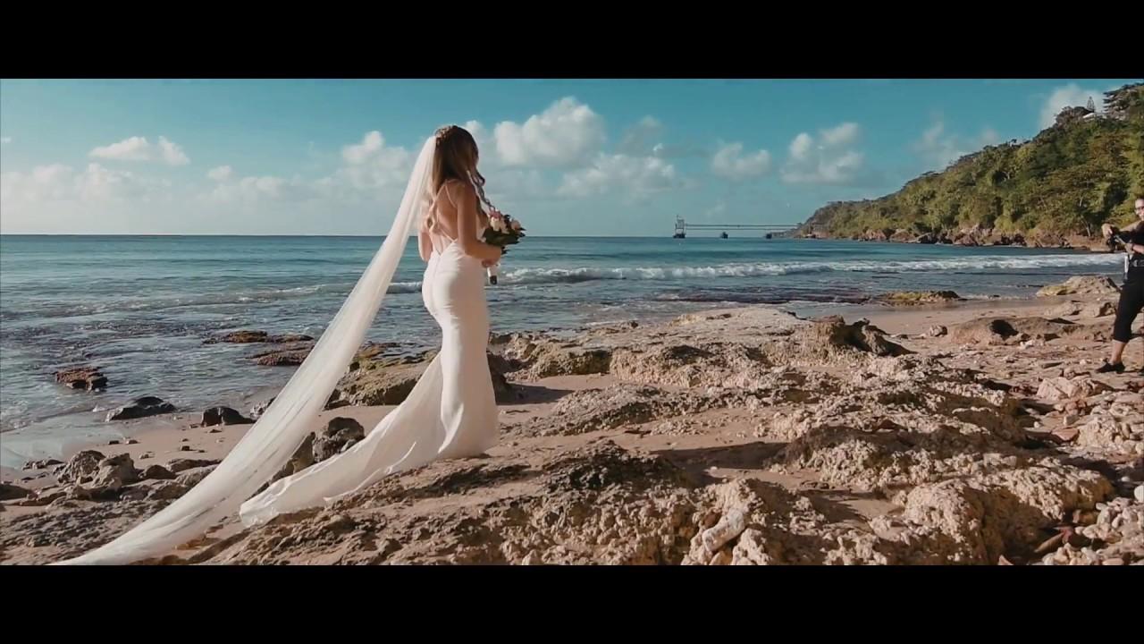 Puerto Rico Beach Wedding Of Becca