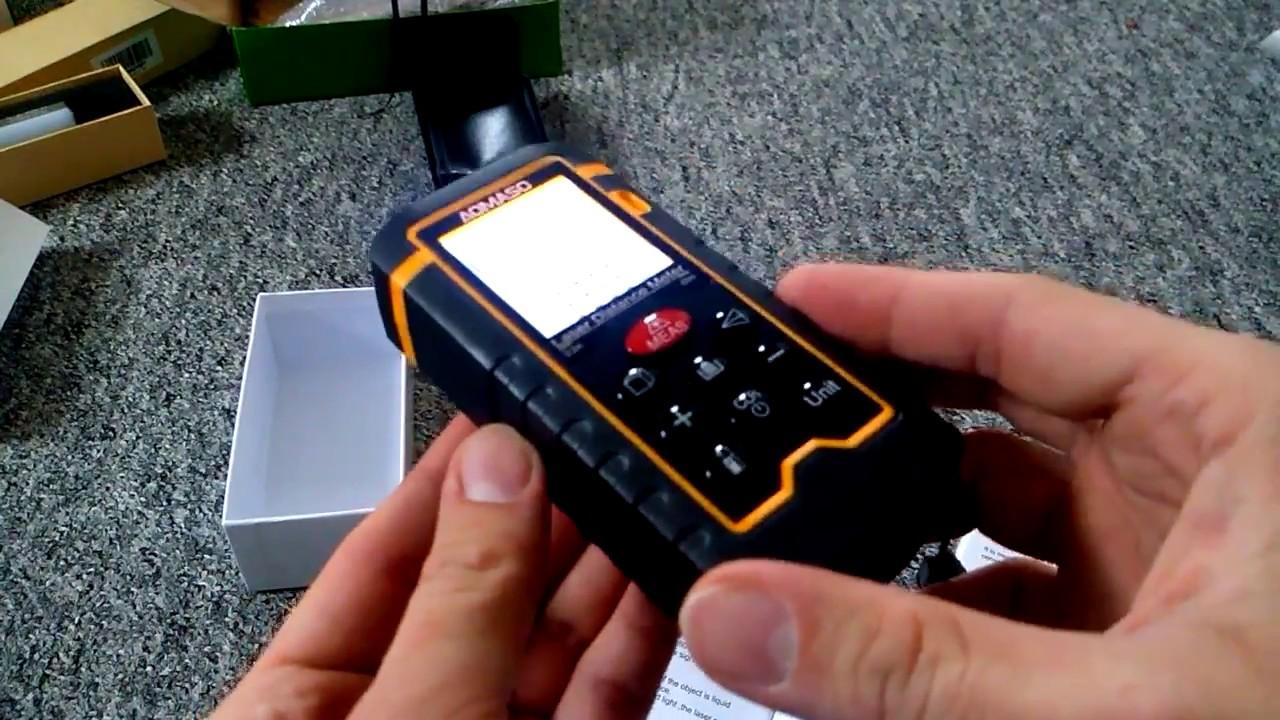 Mini Laser Entfernungsmesser : Aomaso abstandsmesser m mini handlich digitales lasermessgerät