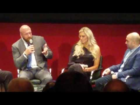 """""""Nature Boy"""" roundtable with Charlotte Flair, Triple H and Mick Foley"""