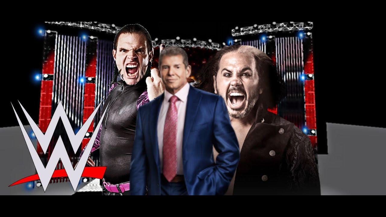 Mr. McMahon TO SIGN WWE JEFF HARDY MATT HARDY RETURNS 2017 ...