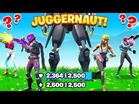 Protect The JUGGERNAUT *NEW* Game Mode in Fortnite Battle Royale