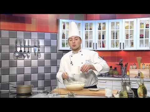 РЕЦЕПТЫ Пирог с лососем из слоеного дрожжевого теста