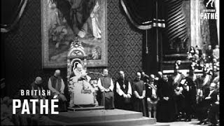 Pope Receives Balzan Peace Prize (1963)