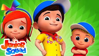 Best Nursery Rhymes Collection | Songs For Children By Junior Squad | Kids Rhyme