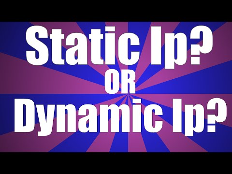 Tech Tutorials: How To Find Out If You Have A Static Or Dynamic Ip Address