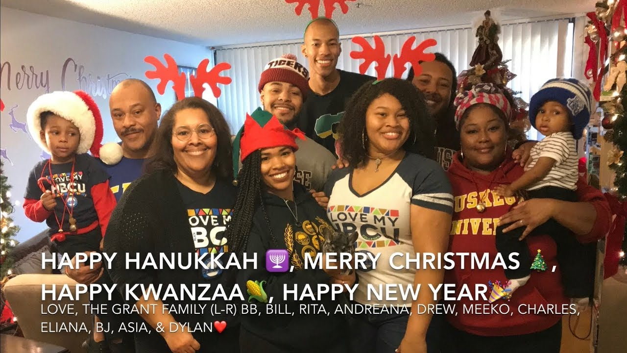 Campbell Grant Family Holiday Greetings Postcard Video 2017 Youtube