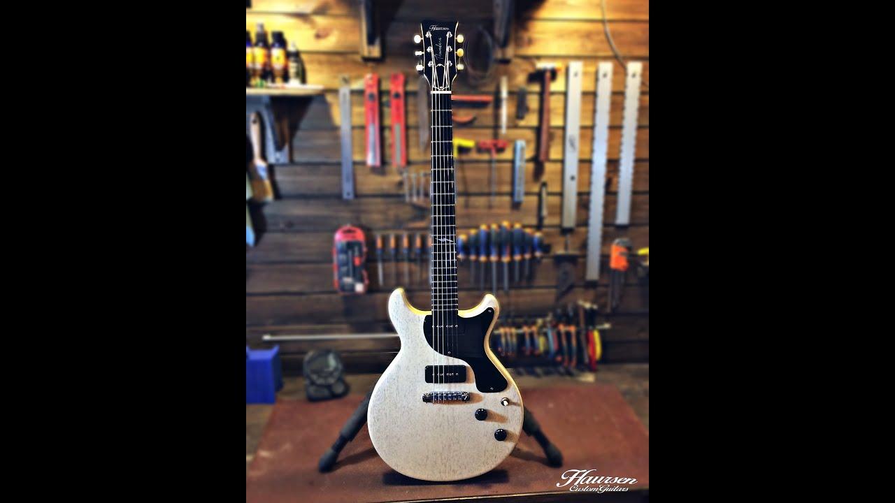 handmade double cut guitar build part3 haursen guitar workshop youtube. Black Bedroom Furniture Sets. Home Design Ideas