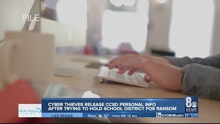 WSJ reports hacker released private data on CCSD students, district releases statement