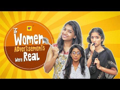 If Women Advertisements were Real | Girl Formula | Chai Bisket