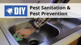 Pest Control Sanitation & Pest Prevention