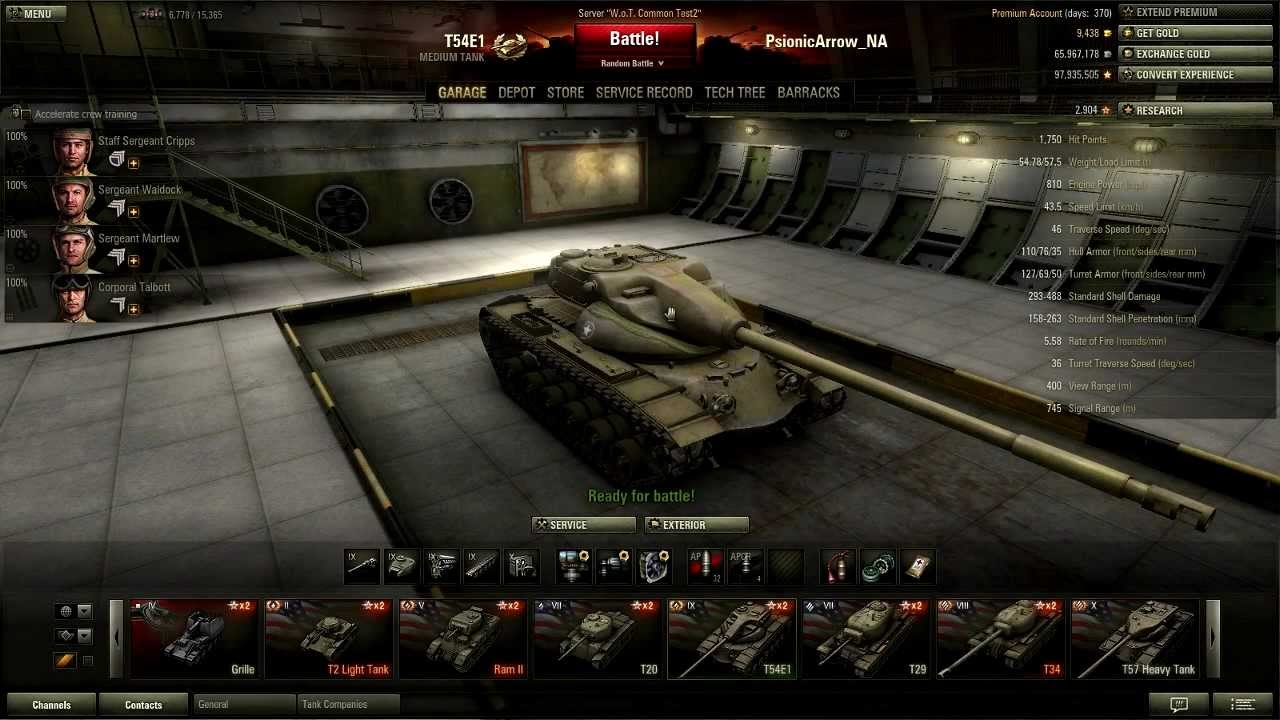 Wot tier 9 matchmaking
