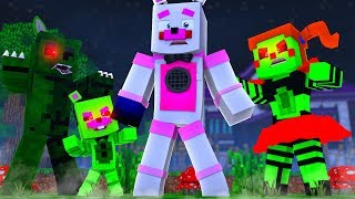 Zombie Animatronic Invasion ?! | Minecraft FNAF Roleplay