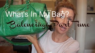 What's In My Bag~ Balenciaga Part Time