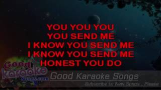 You Send Me - Sam Cooke ( Karaoke Lyrics )