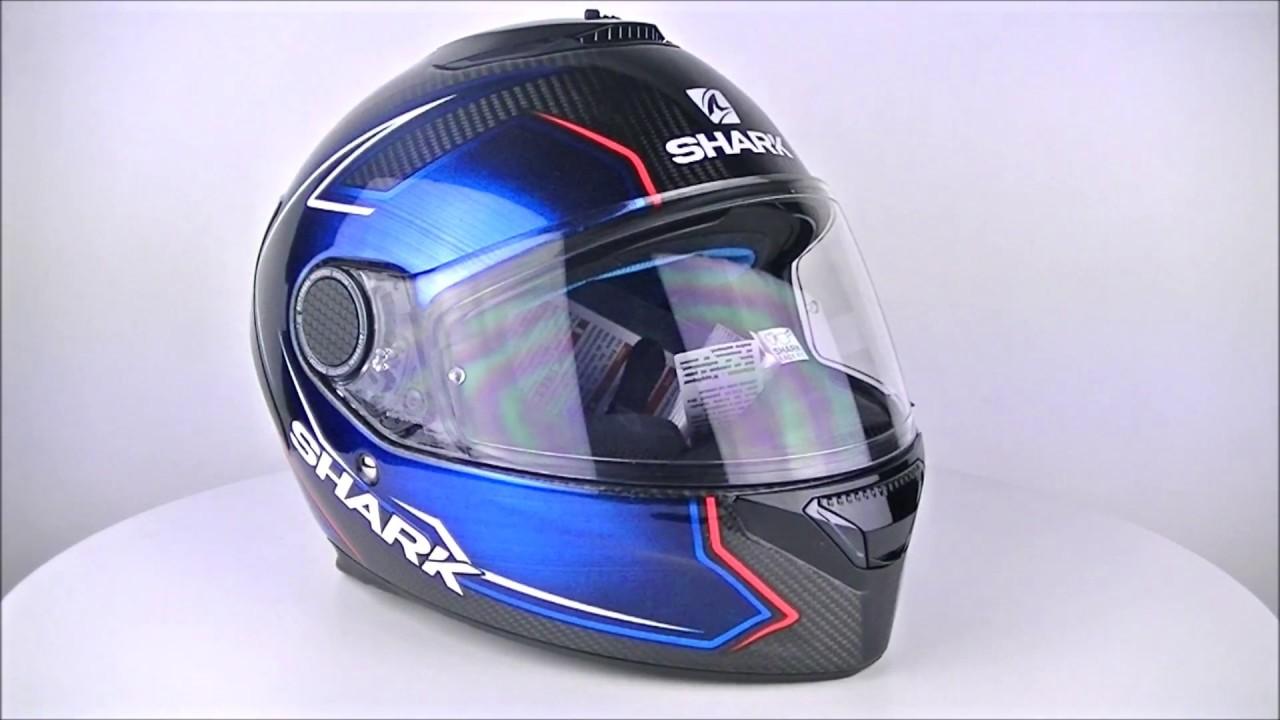 Shark Spartan Carbon Guintoli Dub Helmet Champion Helmets Youtube