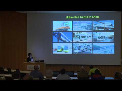 Scholar-in-Residence: Yizhao Yang - Sustainable Urban Transportation in China