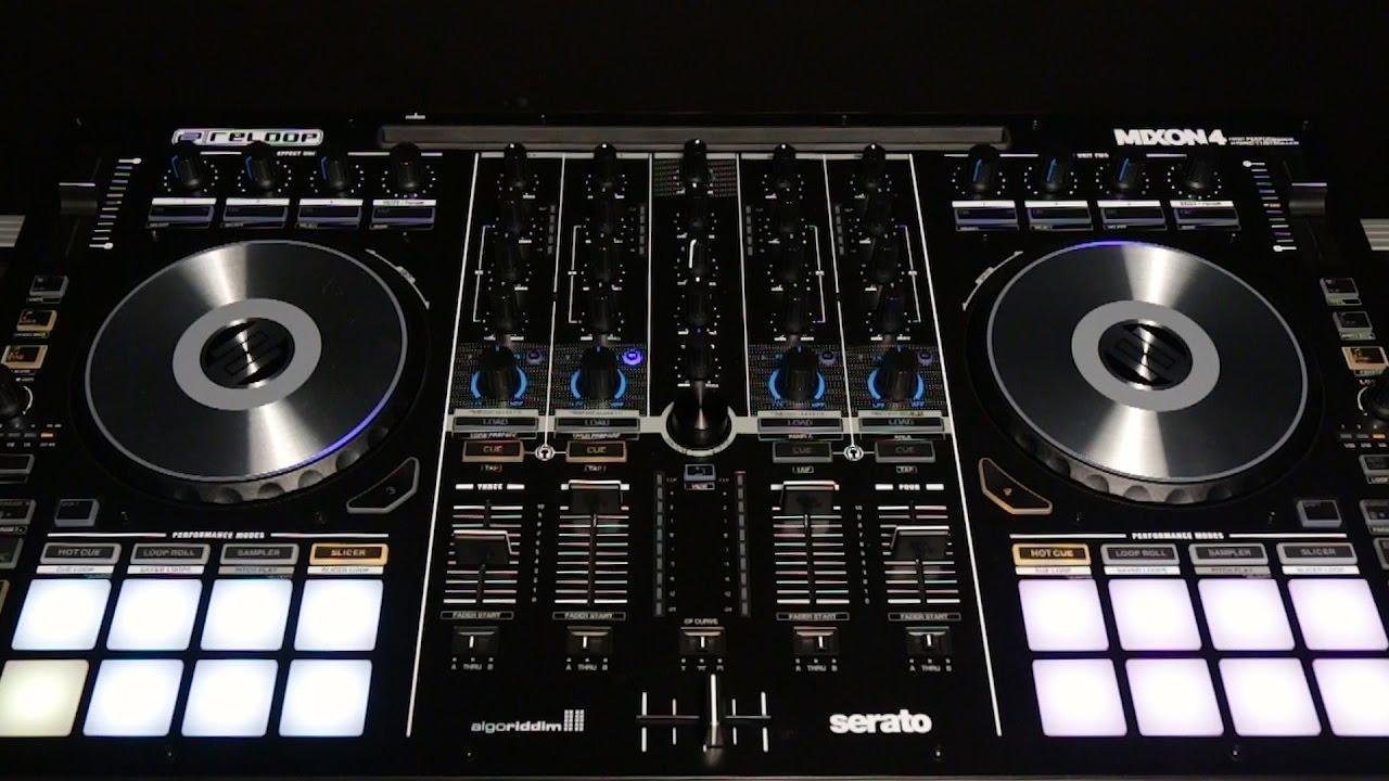 reloop mixon 4 dj controller youtube. Black Bedroom Furniture Sets. Home Design Ideas