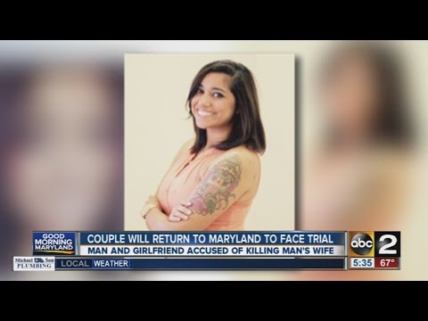 Couple to return to Maryland to face trial in soldier's death