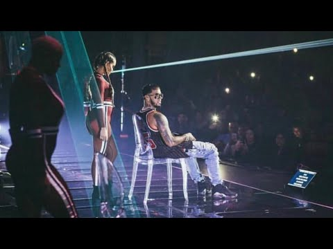 Anuel Concierto En Chicago | Bubalu Preview Ft Becky G , Prince Royce