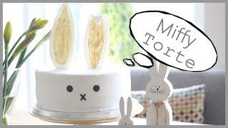 Miffy Torte - Hasen Torte - schnell und einfach - Tortenbox - BACKLOUNGE Rezepte