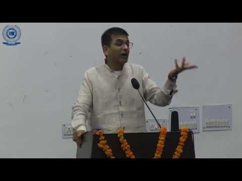 "Guest Lecture by ""Hon'ble Justice Dr. Dhananjaya Chandrachud, Judge Supreme Court of India"""