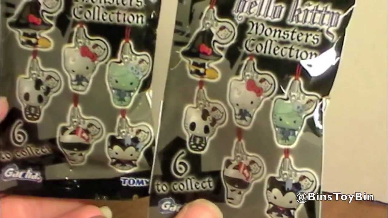 2dd5f79e39 Tomy Gacha HELLO KITTY MONSTERS Blind Bags! Opening   Review by Bin s Toy  Bin - YouTube