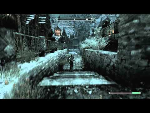 SKYRIM How To Buy House In WIndhelm Commentary + Tutorial