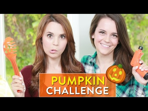 PUMPKIN CARVING CHALLENGE