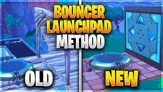 Bounce pad + Launch Pad=???? 2 NEW DISCOVERIES IN Fortnite