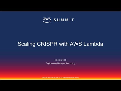 Scaling CRISPR with AWS Lambda