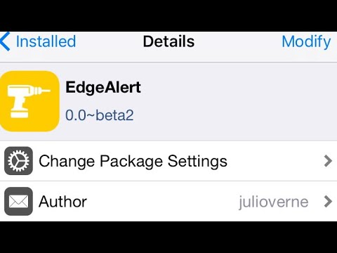 Edge Alert Tweak