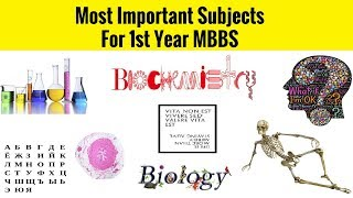 Most Important Subjects For 1st Year MBBS | MBBS SERIES