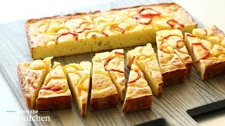 Cheese and Sweet Pepper Buttermilk Cornbread - From the Test Kitchen