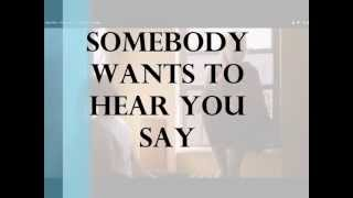 Betty Who - Somebody Loves You ~ Lyrics