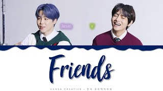 Gambar cover BTS - 'Friends' Lyrics Color Coded (Han/Rom/Eng)