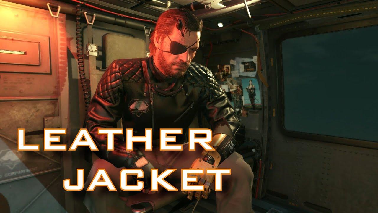 Mgsv Big Boss Leather Jacket Gameplay Episode 4 C2w S Rank