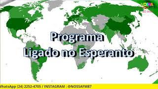 LIGADO NO ESPERANTO! 28/03/2021