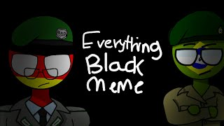 (Very old and cringy video) Everything Black Animation meme (CountryHumans)// Tweening