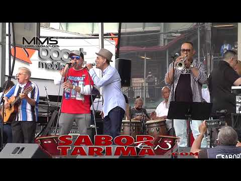 Frankie Vasquez Canta Porque tu sufres - Festival Morrison Ave Bronx New York Presenta Freddy Perez