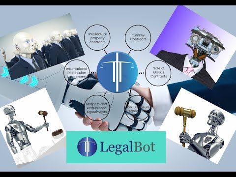LegalBot The World's First AI Smart Contract Lawyer Robot