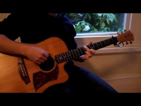 Clarity Acoustic Guitar (Zedd ft. Foxes Cover) - TABS - Acoustic Version
