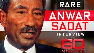 Egypt President Anwar Sadat's only ever interview with Australian journalist | 60 Minutes Australia