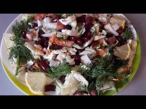🍏🍎 Салат для Похудения и в Период Поста - Вкусный и Полезный !!! 🍏🍎